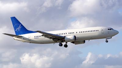 A picture of N538CC - Boeing 73748E - iAero Airways - © Filipe Couceiro