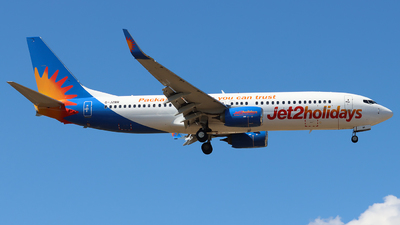 A picture of GJZBR - Boeing 7378MG - Jet2 - © Joost Alexander