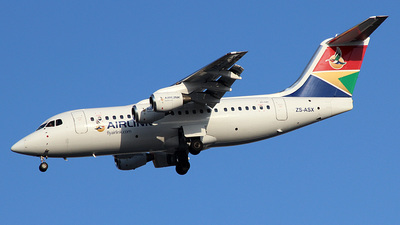 ZS-ASX - British Aerospace Avro RJ85 - South African Airlink