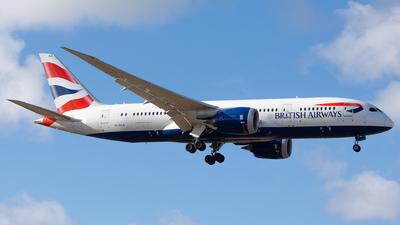 A picture of GZBJI - Boeing 7878 Dreamliner - British Airways - © Rickard Andersson