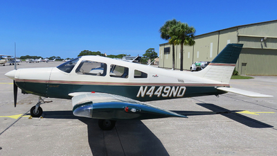 A picture of N449ND - Piper PA28161 - [2842250] - © Orlando Suarez