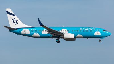 4X-EKO - Boeing 737-86Q - El Al Israel Airlines