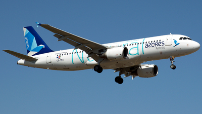 A picture of CSTKQ - Airbus A320214 - Azores Airlines - © a.m.