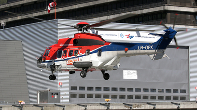 A picture of LNOPX - Airbus Helicopters H215 - CHC Helikopter Service - © Stig Rokkones