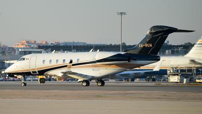 XA-RUA - Bombardier BD-100-1A10 Challenger 300 - Private