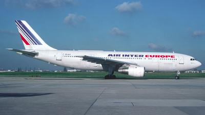 F-BUAO - Airbus A300B2-1C - Air Inter Europe
