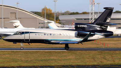 G-EGVO - Dassault Falcon 900EX - TAG Aviation