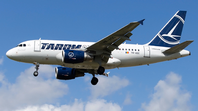 YR-ASC - Airbus A318-111 - Tarom - Romanian Air Transport