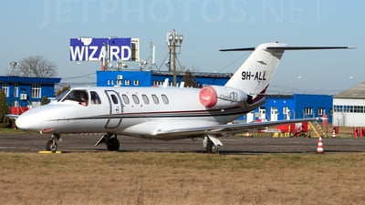 9H-ALL - Cessna 525A CitationJet 2 - Luxwing