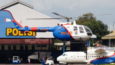 P-1103 - MBB Bo105CB - Indonesia - Police