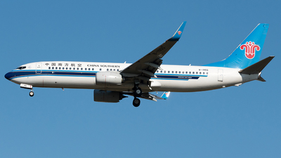 B-1955 - Boeing 737-81B - China Southern Airlines