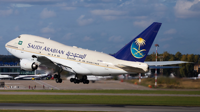 HZ-HM1C - Boeing 747SP-68 - Saudi Arabia - Royal Flight