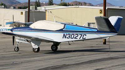 N3027C - Beechcraft J35 Bonanza - Private