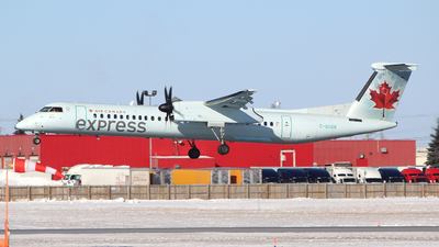 A picture of CGGOK - De Havilland Canada Dash 8400 - Air Canada - © Guy Langlois