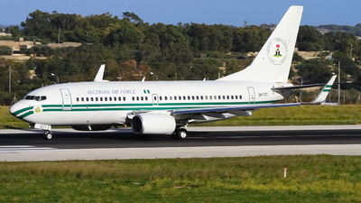 5N-FGT - Boeing 737-7N6(BBJ) - Nigeria - Air Force