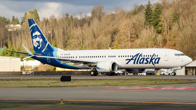 N4022A - Boeing 737-9 MAX - Alaska Airlines