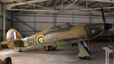 Z3055 - Hawker Hurricane Mk.IIA - United Kingdom - Royal Air Force (RAF)