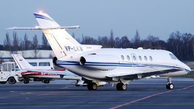 VP-CKN - Raytheon Hawker 800XP - Private