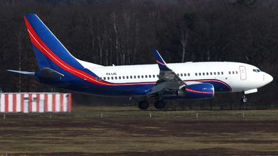 P4-LIG - Boeing 737-7JF(BBJ) - Petroff Air