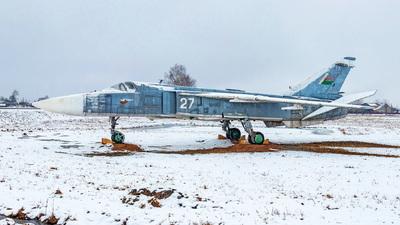 27 - Sukhoi Su-24M Fencer D - Belarus - Air Force