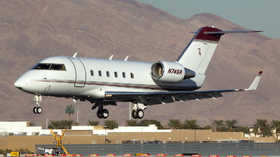 A picture of N74GR - Bombardier CL601 Challenger - [3001] - © TarmacPhotos.com