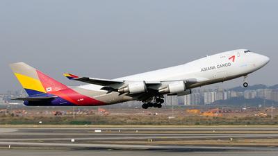 HL7419 - Boeing 747-48EF(SCD) - Asiana Cargo