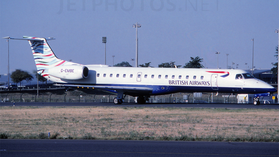 G-EMBE - Embraer ERJ-145EU - British Airways (CityFlyer Express)