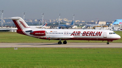 D-AGPL - Fokker 100 - Air Berlin (Germania)