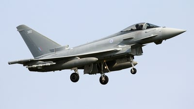 ZK360 - Eurofighter Typhoon FGR.4 - United Kingdom - Royal Air Force (RAF)