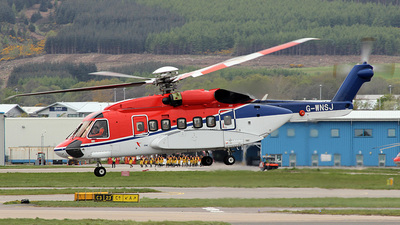 A picture of GWNSJ - Sikorsky S92A - CHC Helikopter Service - © Paul Davey