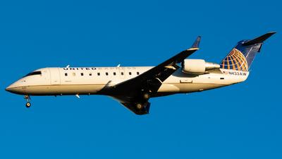 N433AW - Bombardier CRJ-200LR - United Express (Air Wisconsin)
