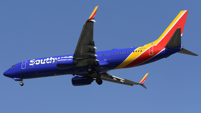 A picture of N8314L - Boeing 7378H4 - Southwest Airlines - © DJ Reed - OPShots Photo Team