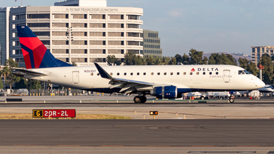 A picture of N263SY - Embraer E175LR - Delta Air Lines - © Issac