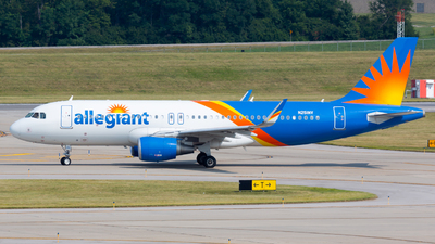 A picture of N251NV - Airbus A320214 - Allegiant Air - © Donald  E Moore