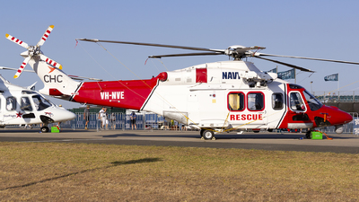 A picture of VHNVE - AgustaWestland AW139 - CHC Helicopters Australia - © Thimo van Dijk