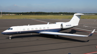 N688CB - Gulfstream G550 - Private
