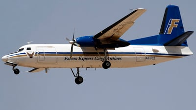 A6-FCZ - Fokker F27-500 Friendship - Falcon Express Cargo Airlines