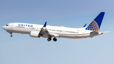 N47512 - Boeing 737-9 MAX - United Airlines