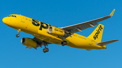 A picture of N645NK - Airbus A320232 - Spirit Airlines - © Miles Aronovitz