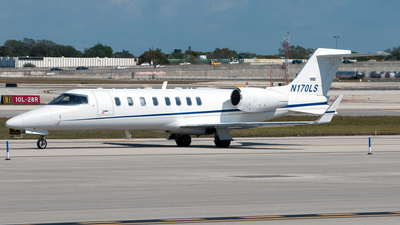 N170LS - Bombardier Learjet 45 - Private