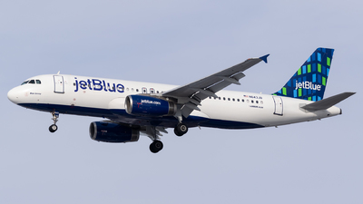 A picture of N643JB - Airbus A320232 - JetBlue Airways - © Evan Dougherty