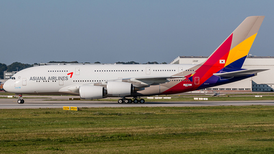 A picture of FWWSU - Airbus A380 - Airbus - © Dirk Grothe