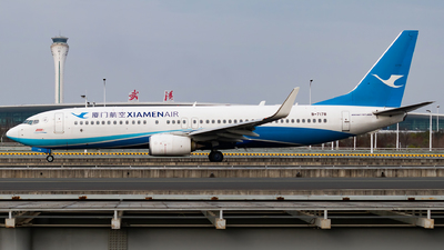 A picture of B7178 - Boeing 73785C - Xiamen Air - © SnowMiku39