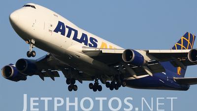 N412MC - Boeing 747-47UF(SCD) - Atlas Air