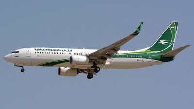 YI-ASJ - Boeing 737-81Z - Iraqi Airways