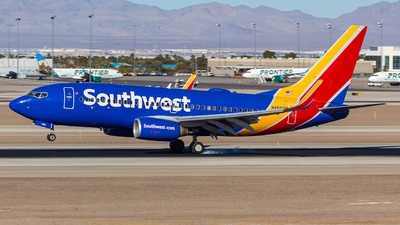 A picture of N484WN - Boeing 7377H4 - Southwest Airlines - © Micah Vobora