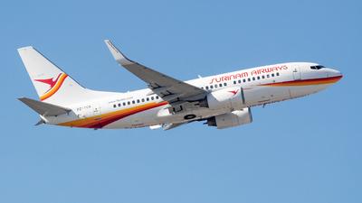 A picture of PZTCS - Boeing 73779L - Surinam Airways - © DreamRiser