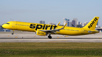 A picture of N681NK - Airbus A321231 - Spirit Airlines - © Filipe Couceiro