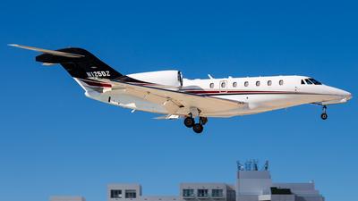 N125DZ - Cessna 750 Citation X - Private