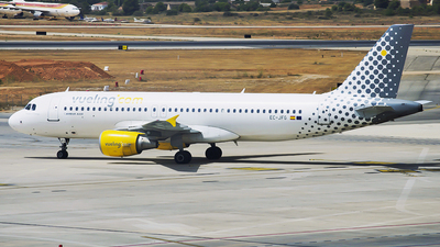 EC-JFG - Airbus A320-214 - Vueling